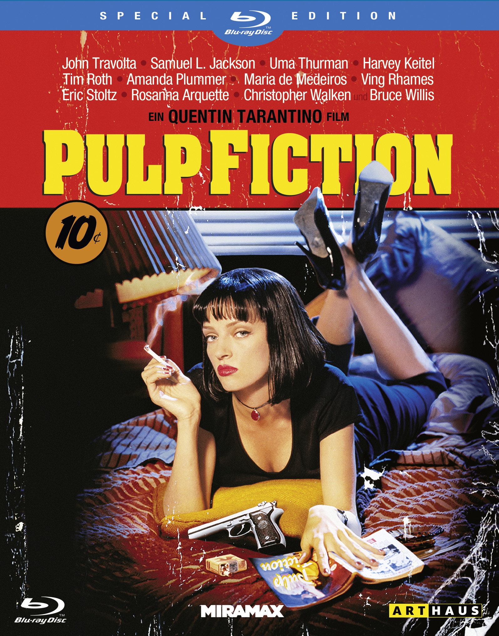 Pulp Fiction Blu Ray Cover