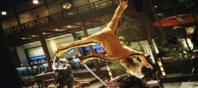 "Uma Thurman in ""Kill Bill"" als blonder Racheengel. (Bildquelle: StudioCanal)"