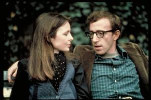 Der junge Woody Allen mit Diane Keaton (Quelle: NFP)