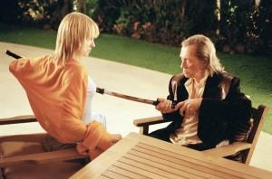 Hass und Liebe liegen bei Bill und der Braut sehr nah bei einander. Werden Sie sich gegenseitig wirklich töten? (Bildquelle: StudioCanal)