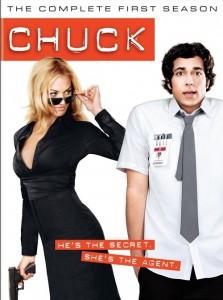 """Yvonne Strahovski auf dem Cover der ersten Staffel """"Chuck"""" (Quelle: Hitmeister)"""