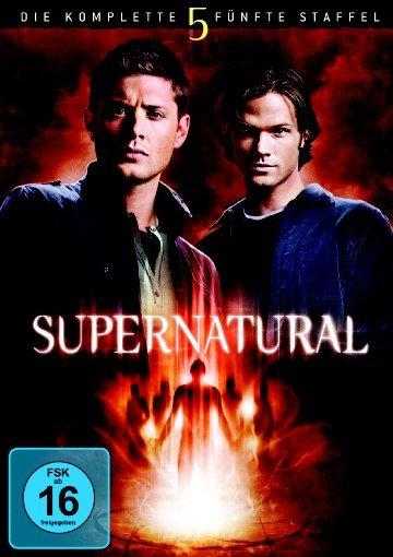 """Jensen Ackles (links) auf dem Cover der fünften """"Supernatural"""" Staffel (Quelle: Hitmeister)"""