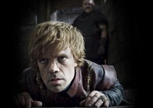 Der gebeutelte Tyrion Lanistair liegt mal wieder am Boden (Quelle: HBO)