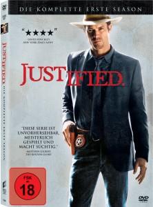 """Das DVD-Cover der ersten Staffel von """"Justified"""" (Bildquelle: Sony Pictures)"""