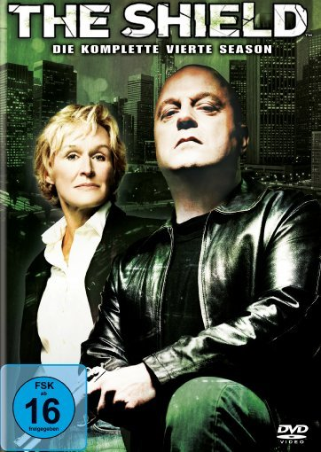 "Michael Chiklis mit Glenn Close auf dem Cover von ""The Shield Season 4"" (Quelle: Hitmeister)"