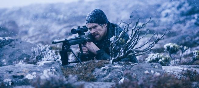 Willem Dafoe auf der Jagd