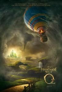 """Ein erstes Teaserposter zu """"Die fantastische Welt von Oz"""" (Quelle Walt Disney Pictures)"""