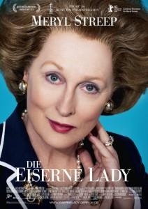 """Das Hauptplakat von """"Die eiserne Lady"""" (Quelle Concorde Home Entertainment)"""