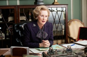 Die eiserne Lady bei der Arbeit (Quelle Concorde Home Entertainment)