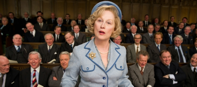 Meryl Streep als Margaret Thatcher (Quelle: Concorde Home Entertainment)