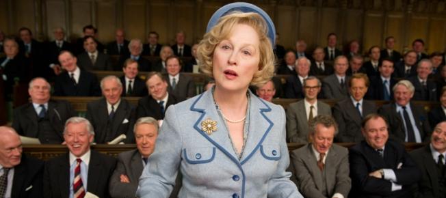 Meryl Streep als Margaret Thatcher (Quelle: Concorde Home Entertainment)