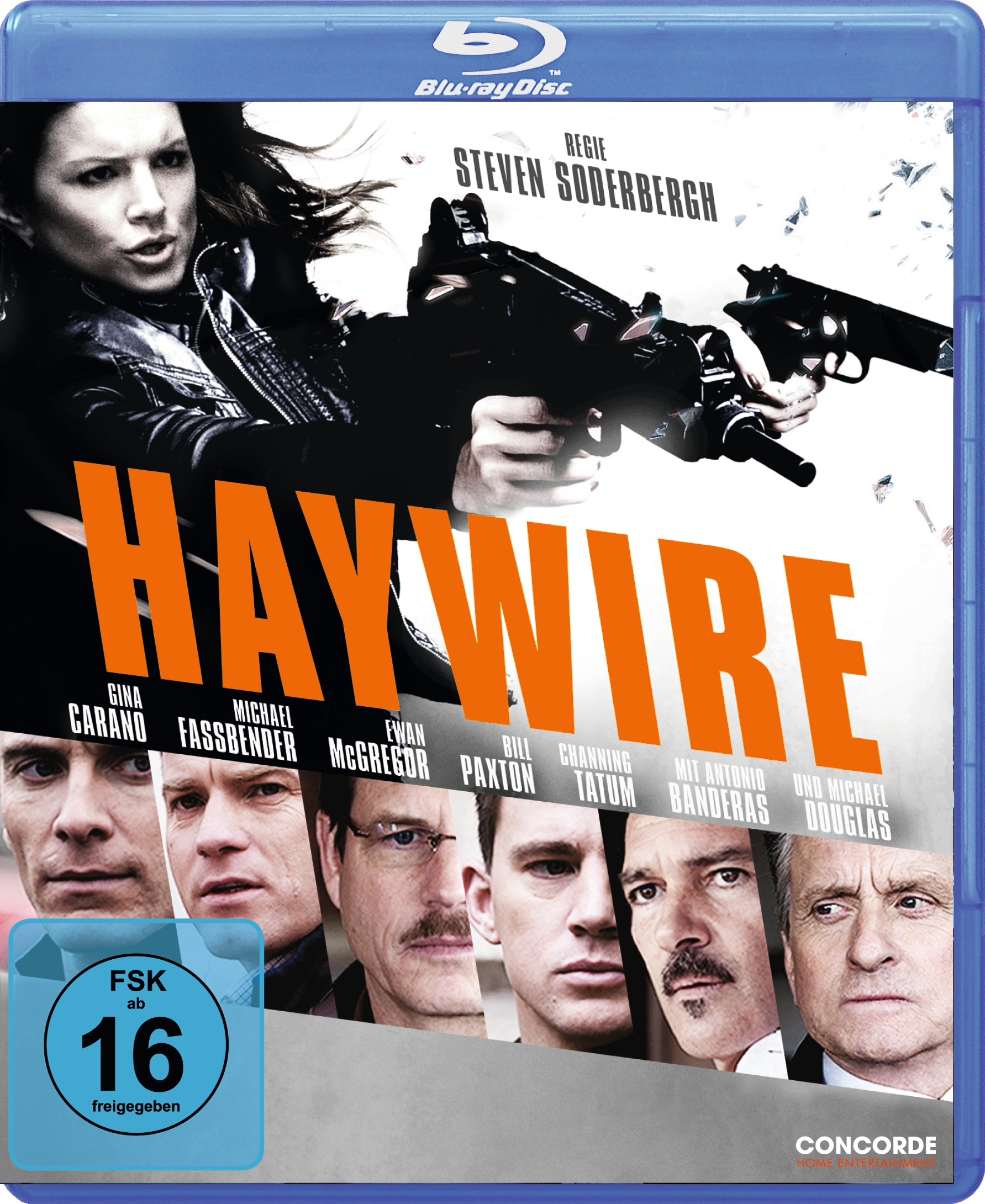 "Das ""Haywire""-Blu-ray Cover (Quelle: Concorde Home Entertainment)"
