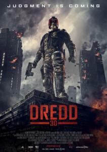 """Das Poster von """"Dredd 3D"""" (Quelle: Universum Film)"""