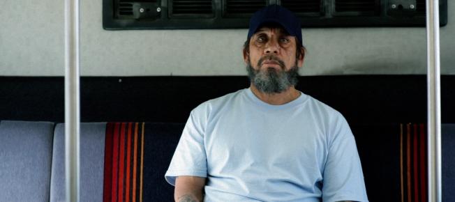 Frank Vega im Bus