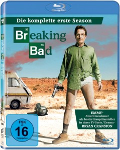 "Das Cover von ""Breaking Bad"" Season 1 (Quelle Sony Pictures Home Entertainment)"