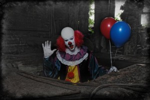 Daniel als Horroclown Pennywise (Quelle: FrightGuys)