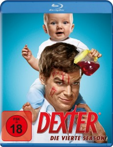 Das Blu-ray-Cover von Dexter Staffel 4 (Quelle: Paramount Home Entertainment)