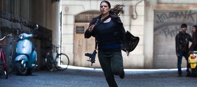 Gina Gargano sprintet
