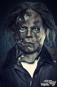 Mike als Michael Myers (Quelle: FrightGuys)