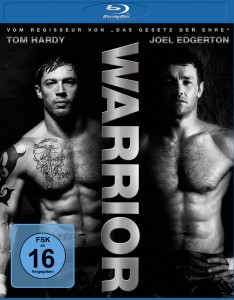 "Blu-Ray Cover von ""Warrior"" (Quelle: Universum Film)"