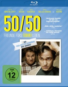 """Das Blu-Ray-Cover von """"50/50"""" (Quelle: Universum Film)"""