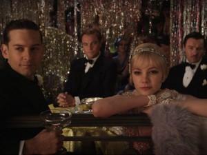Nick mit Daisy und Gatsby (Quelle: Warners Bros.)