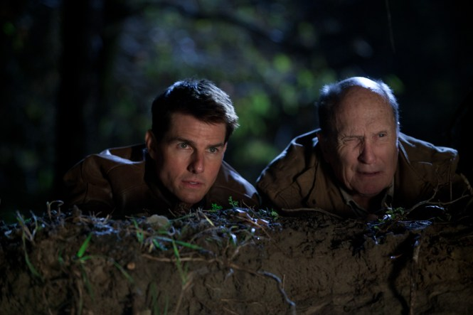 Jack und Cash auf der Lauer (Quelle: Paramount Pictures)