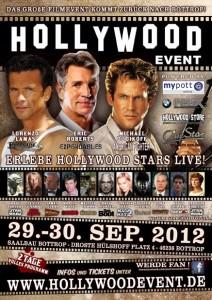 Das aktuelle Plakat vom Hollywood Event (Quelle: Hollywood Event)