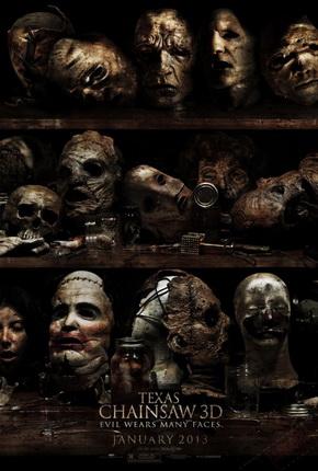 "Das ""Texas Chainsaw 3D""-Teaser Plakat (Quelle: Lionsgate)"