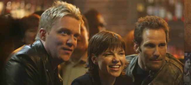 Johnny, Sarah und Walt haben Spaß