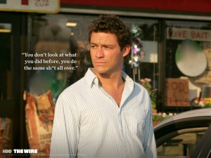 Dominic West spielt Jimmy McNulty (Quelle: HBO)