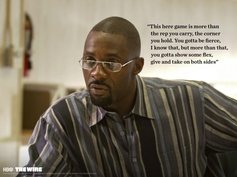 Idris Elba feierte in der Rolle des Drogendealer Stringer Bell seinen Durchbruch (Quelle: HBO)