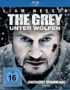 """Das Blu-Ray Cover von """"The Grey"""" (Quelle: Universum Film)"""