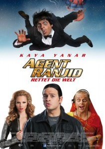 """Das Kinoplakat von """"Agent Ranjid rettet die Welt"""" (Quelle: Constantin Film)"""