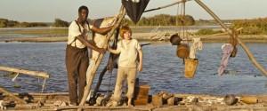Huck und Jim auf dem Floß (Quelle: Majestic Filmverleih)