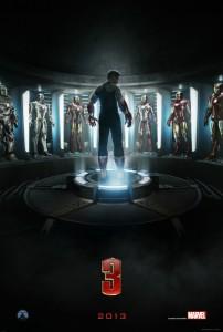 "Teaser-Plakat zur ""Iron Man 3"" (Quelle: Concorde Filmverleih)"