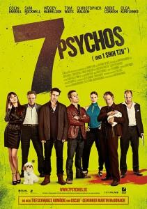 7 Psychos Kino-Plakat (Quelle: DCM Filmverleih)