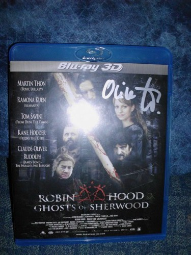 Robin Hood: Ghosts of Sheerwood 3D Blu-ray mit Autogramm von Oliver Krekel