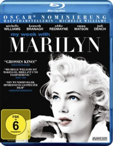 """Blu-ray Cover """"My Week with Marilyn"""" (Quelle: Ascot Elite)"""