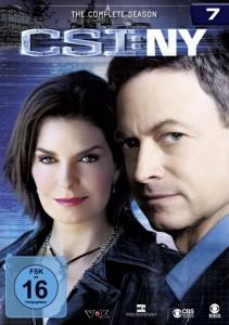"""DVD-Cover von der siebten Staffel """"CSI: NY"""" (Quelle: Universum Film)"""
