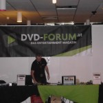 Der Stand vom Leinwandreporter-Partner DVD-Forum.at