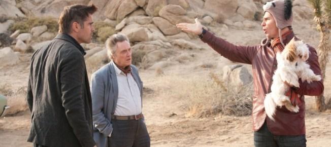 Marty, Hans und Billy verstecken sich in der Wüste (Quelle: DCM Filmverleih)