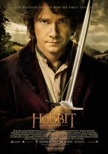 """Das Kinoplakat von """"Der Hobbit - Eine unerwartete Reise"""" (Quelle: Warner Bros.)"""