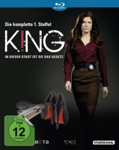 King 1. Staffel - Das Cover der Blu-ray (Quelle: StudioCanal)