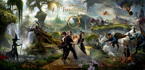 """Artwork zu """"Die fantastische Welt von Oz"""" (Quelle: Disney)"""