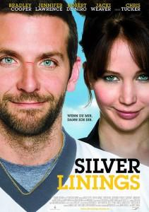 """Das Kinoplakat von """"Silver Linings"""" (Quelle: Senator Film)"""