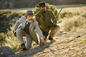 Schultz und Django auf der Jagd (Quelle: Sony Pictures Germany)