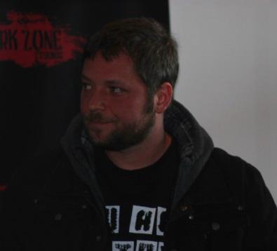 Alex Vincent auf der Dark Zone Horrorcon (© Thomas Trierweiler)