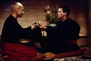 Joe Armstrong bei der Ninja-Lehre (Quelle: StudioCanal)