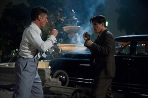 Cohen und O'Mara im Clinch (Quelle: Warner Bros. Pictures Germany)